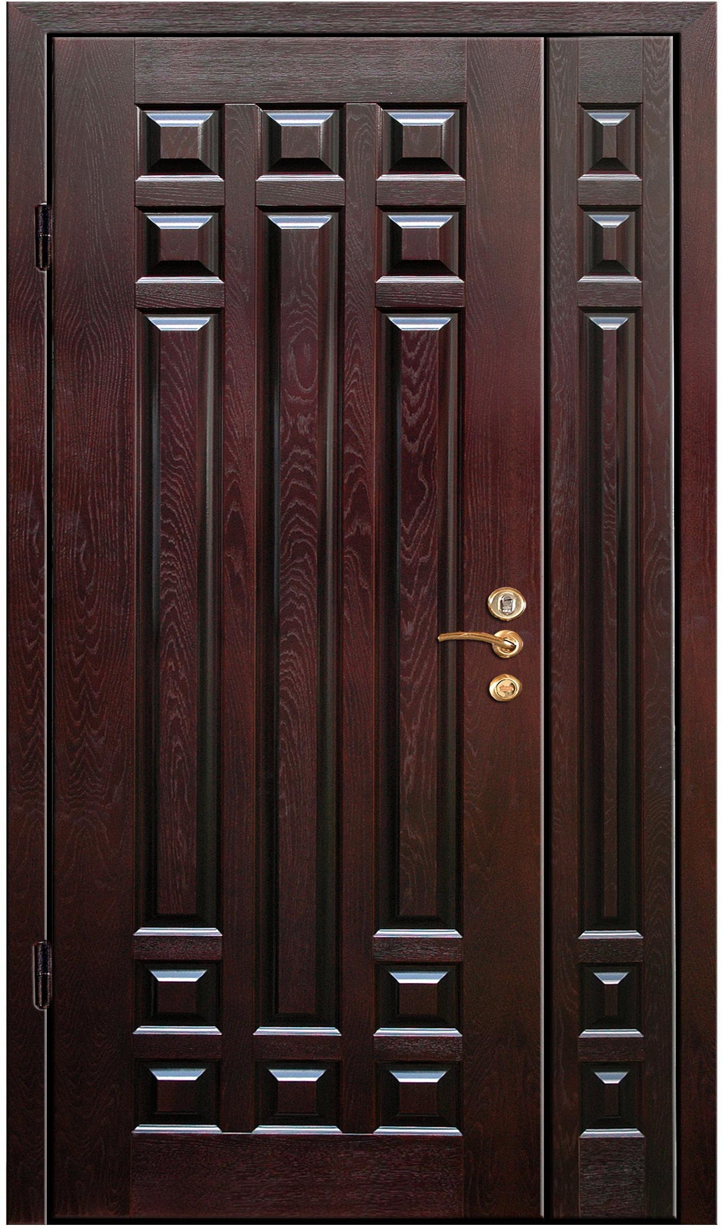 входная металлическая дверь мдф с натуральным шпоном