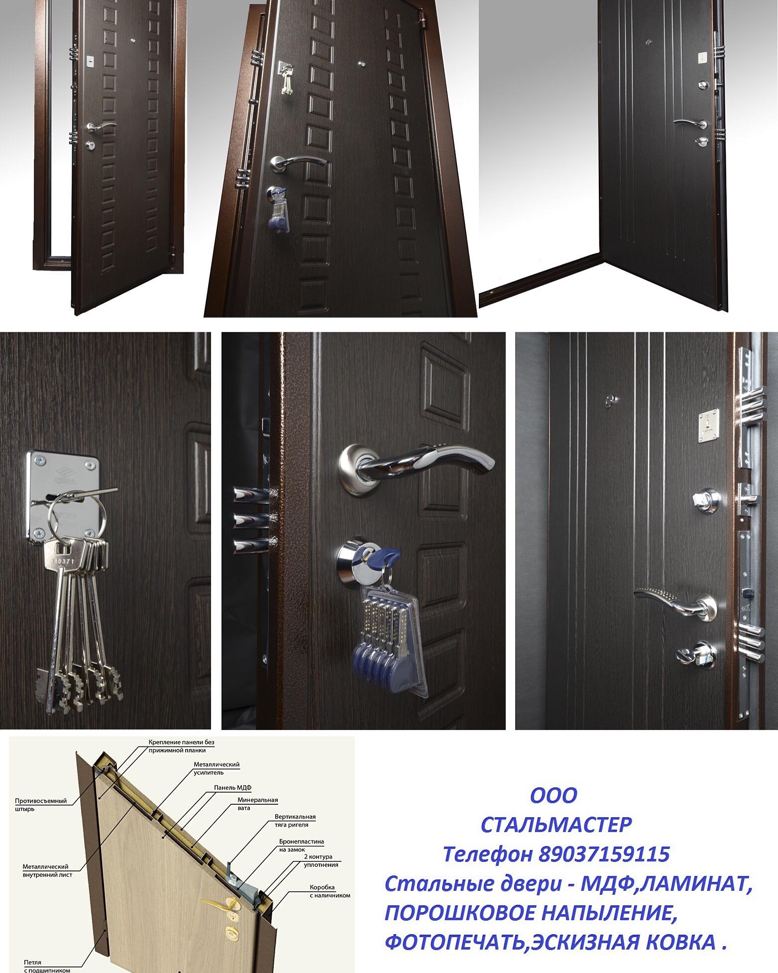 металлические тамбурные двери в пушкино