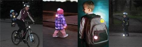 Светоотражатели для детей своими руками фото