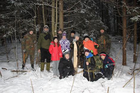 Зимний лагерь юный натуралист